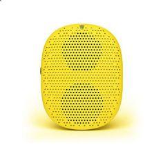 PopDrop Wireless Speaker + Strap LEMON- Mini Bluetooth speaker with clear, distortion-free audio in Lemon Drop- Comes in six flavorful colors- Lemon Drop, Bu. Mini Bluetooth Speaker, Portable Speakers, Music Gadgets, Gadgets Online, Audio In, Solar Battery, Lemon, Ebay, Travel Items