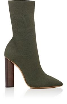 Yeezy Block-Heel Boots at Barneys New York