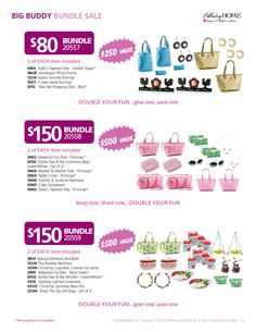 "ere are you list of Bundles stating at $40 omg you are going to love this sale to order go to https://www.celebratinghome.com/parties/MysteryHostess534846/productcategorylist.ashx  go to ""SHOP"" then to ""SPECIAL SALE"" to see all 14 bundles. 2 people are going"