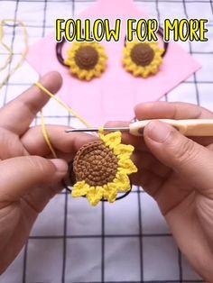 Crochet Flower Tutorial, Crochet Flower Patterns, Crochet Flowers, Crochet Crafts, Crochet Doilies, Crochet Projects, Crochet Box Stitch, Crochet Stitches, Stitch Patterns