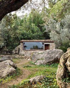 Biophilic Architecture, Landscape Architecture, Landscape Design, Architecture Design, Landscape Art, Landscape Paintings, Landscape Photography, Cabin Design, House Design