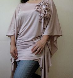 I choose to sew: Tunic in 15 minutes (no need to pattern)