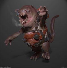 ArtStation - Billy the Space Janitor, Samuel Youn