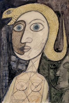 Victor Brauner   Surrealist painter   Tutt'Art@   Pittura * Scultura * Poesia * Musica  