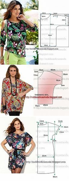 Amazing Sewing Patterns Clone Your Clothes Ideas. Enchanting Sewing Patterns Clone Your Clothes Ideas. Dress Sewing Patterns, Blouse Patterns, Sewing Patterns Free, Sewing Tutorials, Clothing Patterns, Fashion Sewing, Diy Fashion, Ideias Fashion, Make Your Own Clothes