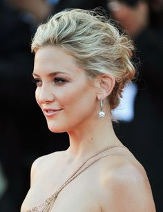 Kate Hudson Messy Upstyle Hairdos for Long Hair