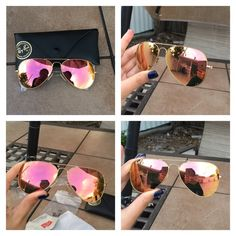 $175 Authentic Brand new Rayban aviator Price is Firm Brand new Rayban aviator copper flash with gold frame. RB 3025 aviator large metal 109/Z2 58-14 2N.