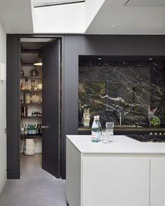 Kitchen Design Inspiration for Your Beautiful Home - Kitchen Architecture - Home - Modern monochrome Best Kitchen Designs, Modern Kitchen Design, Modern House Design, Interior Design Kitchen, Modern Interior Design, Coastal Interior, Modern Coastal, Interior Ideas, Kitchen Themes