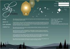 Website Design for Sky lanterns