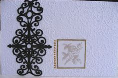 Condoleans card 2009 - made by Anna Jaawre