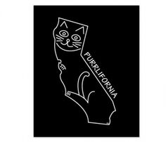State Cats Prints Purrlifornia cat kitty cute