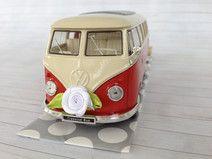 Hochzeitsauto VW Bus T1 rot/weiß - Geldgeschenk