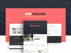 AMI-Personal Template