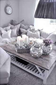 Cozy Glam Living Room Ideas 74