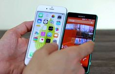 iPhone 6 vs Sony Xperia Z3 Compact (Video)