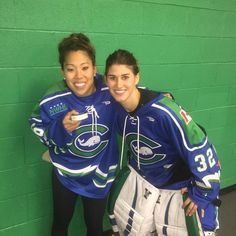 99a6d06ff4f Jessica Koizumi and Jaimie Leonoff of the Connecticut Whale. Koizumi scored  the first goal of