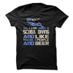 SCUBA DIVING T-Shirts, Hoodies. VIEW DETAIL ==► https://www.sunfrog.com/Sports/SCUBA-DIVING-72659902-Guys.html?id=41382