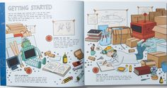 books4yourkids.com: My Crazy Inventions Sketchbook: 50 Awesome Drawing Activities for Young Inventors by Andrew Rae & Lisa Regan, 128 pp, RL: 4
