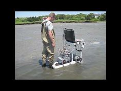 The RoboClam is a robot that digs using similar motions as a razor clam. We are testing to RoboClam to investigate the limits of razor clam-inspired burrowing. Digger, Clam, Inspired, Robots, Science, Group, Nature, Unique, Naturaleza