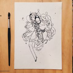 Wind-ups, wind-downs by  T Wei, Wellington, New Zealand     Character Design   Drawing   Illustration  