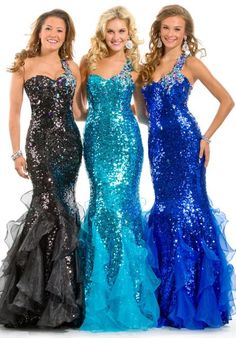 Party Time Gown 6012 Prom Dress - PromDressShop.com | Prom Dresses I like the darker blue one the best.