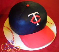 Minnesota Twins Cake by The Cake Diva