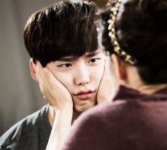 "lee jong suk in ""i hear your voice"""