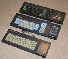 Les Amstrad CPC 464/664/6128, à noter que le 664 est assez rare.