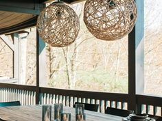 DIY Network has instructions on how to make a nautical-style pendant light using rustic, all-natural rope.
