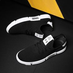f2c746ccd14 NOVINKA Pánská obuv Příležitostně prodyšná letní pánská obuv Čipka Tenisky  pro muže Chaussure Homme White White Velikost 39-44