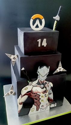 Overwatch cake Genji