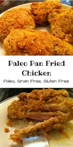 Paleo Fried Chicken (Pan Fried) - Oh Snap! Let's Eat!