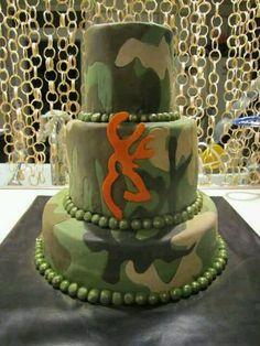 Love this camo cake (: