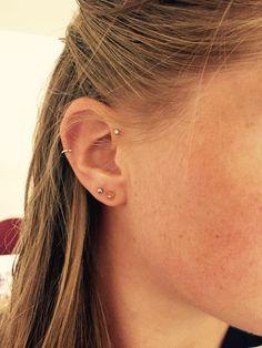Ear piercings! Love it