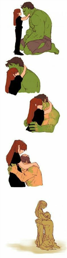 This isn't Natasha (I don't think) does anyone remember the Hulk movie??? —— could be Betty Ross, then