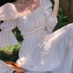 Fairytale Dress, Fairy Dress, Cute Fashion, Fashion Outfits, Lafayette, Looks Vintage, Madame, Aesthetic Clothes, Pretty Dresses
