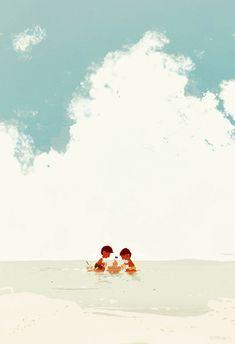 """Sand Castle"" by PascalCampion"