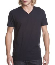 Next Level N3200 NL Mens SS V Neck Tee $3.96 (85% OFF)