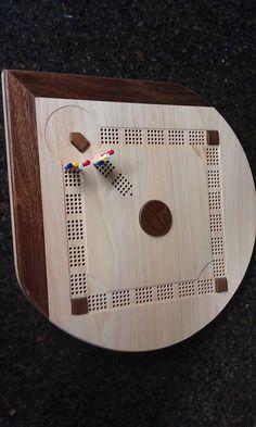 7 Best Cribbage Board Wood Images Cribbage Board Board Games