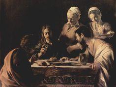 Caravaggio - Cena di Emmaus