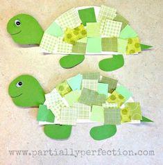 Paper Plate Turtle Crafts for Preschoolers . 26 Unique Paper Plate Turtle Crafts for Preschoolers Inspiration . Paper Plate Art, Paper Plate Crafts For Kids, Paper Plates, Diy Crafts For Kids, Paper Crafting, Fun Crafts, Art For Kids, Paper Plate Animals, Ocean Crafts