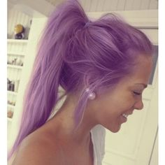 light purple hair - Google Search