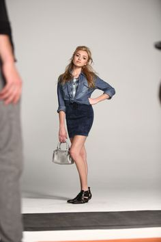 Bongo's Fall 2015 Campaign Features Peyton List | Teen Vogue