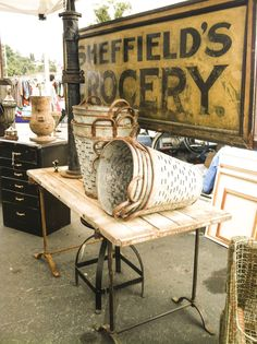 Orlando Designs: Pasadena Flea Market!