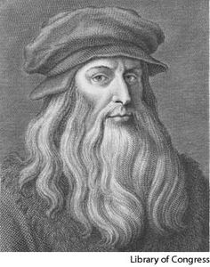 Leonardo Da Vinci, known for some of my favorite inventions an ideas such as the Tank, machine gun an the glider.