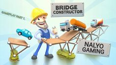 BRIDGE CONSTRUCTOR, PS4 Gameplay Part 1. (Out Now for PSVITA)