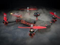 Mola: InmmersionRC Vortex, dron de carreras con cuerpo plegable