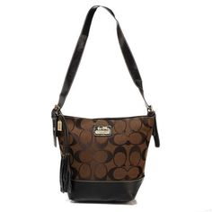 Look Here! Coach Legacy Duffle In Printed Signature Small Coffee Crossbody Bags ACW Outlet Online