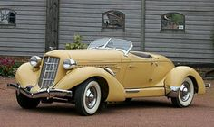 Auburn 851 SC Roadster, 1935 hot-for-hot-rods Us Cars, Sport Cars, Retro Cars, Vintage Cars, Carros Vintage, Auburn Car, Scooter Moto, Roadster, Classy Cars
