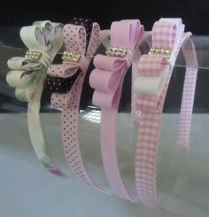Headbands girl hair accessory girl headband headband for girls bow headband headband with bows toddl – Artofit Ribbon Art, Ribbon Crafts, Ribbon Bows, Diy Crafts, Diy Hair Bows, Diy Bow, Ribbon Headbands, Baby Headbands, Headband Hairstyles